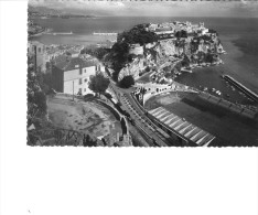 Monaco - Le Rocher Et Le Stade Lois II - Monaco