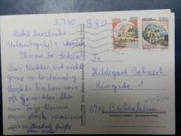 44/491   CP 1990 - 1981-90: Storia Postale
