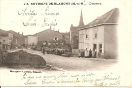 54 - DOMEVRE,  (UNE RUE DU VILLAGE - ECRITE 1904) - Domevre En Haye