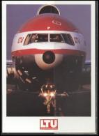 LTU Airline Postcard Aviation Plane Transportation LTU 001 - 1946-....: Ere Moderne