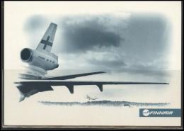 FINNAIR Airline Postcard Aviation Plane Transportation FINNAIR 001 - 1946-....: Ere Moderne