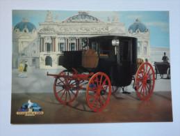 CARTE POSTALE - FRANCE - VOYAGE DANS LE TEMPS - ST JEAN DU GARD - COUPE DE VILLE 1865 - ED. DIN - Taxi & Carrozzelle