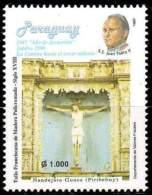PARAGUAY 1997. Vers L'Année Sainte 2000. Pape J.P. II (1) - Other Collections