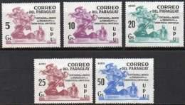 PARAGUAY  1981 - Centenaire De L'entrée Du Paraguay à L'U.P.U. (5) - Other Collections