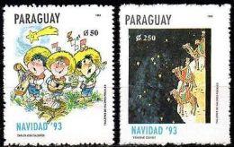 PARAGUAY 1993. Noël (2)