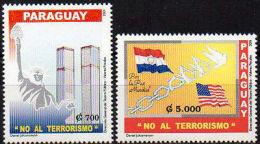 PARAGUAY 2001. Lute Contre Le Terrorisme (2)
