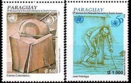 PARAGUAY 1998. Déclaration Universelle Des Droits De L'Homme (2)