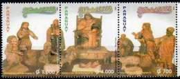 PARAGUAY 2002. Noël. Crèche En Bois (3) - Other Collections