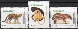 PARAGUAY 1997. Exposition Philatélique Du Mercosur. Faune (3)