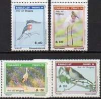 PARAGUAY 1994. PARAFIL'94 Exposition Philatélique. Oiseaux (4) - Other Collections