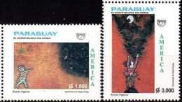 PARAGUAY 1999. America UPAEP. Le Nouveau Millénaire Sans Armes (2) - Other Collections