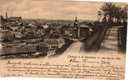 BRABANT  2 PK Diest  Vliegplein  1925  Zicht Op De Stad  1902 - Diest