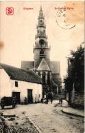 BRABANT  2 CP Dieghem  Alg Zicht  Nels 11 N°47 Anno   1900     Kerk 1904 - Diegem