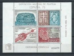 Espagne - 1975 - Y&T Bloc 26- Neuf ¨** - 1971-80 Unused Stamps
