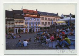 GERMANY -  AK 205820 Freiburg - Sommerflair Auf Dem Augustinerplatz - Freiburg I. Br.