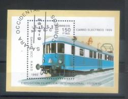 SAHARA OCC. 1992   TRENI   BF  Usati / Used °° - Treni