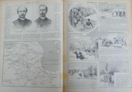 J.DES VOYAGES 1896 N�988: SUPPLICES PERSANS LES BABYS ET NASR-DE-DIN/LE KURDISTAN/VOYAGE EN SARDAIGNE/LES ALIZES