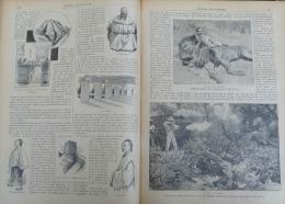 J.DES VOYAGES 1896 N�1000: LE POPOCATEPELT/MONGOLIE MONASTERE TRAPPISTE/AFRIQUE CHASSE AU LION/RAINILAIARIVONY