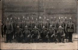 ! Rostock Fotokarte 1. Weltkrieg, 76. Regiment, Soldatenphoto, Militaria