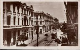 ! 1929 Alte Ansichtskarte Straßenbahn, Tramway, Pernambuco, Brasilien, Brazil - Recife