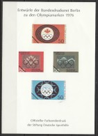Germany Bund - Collection Of 19 Colour Samples (Farbsonderduck) Bundesdruckerei - [7] West-Duitsland