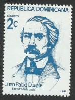 Dominican Republic, 2 c., 1982, Scott # 854, MNH
