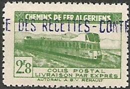 ALGERIE COLIS POST YVERT  N� 88  / MAURY N� 102  NEUF** TTB / MNH