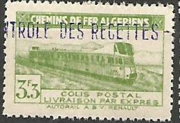 ALGERIE COLIS POST YVERT  N� 89  / MAURY N� 103  NEUF** LUXE / MNH