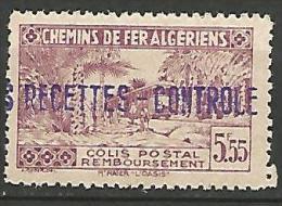 ALGERIE COLIS POST YVERT  N� 91 / MAURY N� 106  NEUF** TTB / MNH