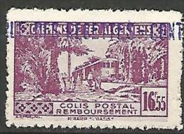 ALGERIE COLIS POST YVERT  N� 94 / MAURY N� 109  NEUF** TTB / MNH
