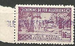 ALGERIE COLIS POST YVERT  N� 94 / MAURY N� 109  NEUF** LUXE / MNH