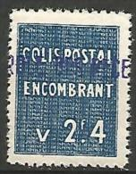 ALGERIE COLIS POST YVERT  N� 96 / MAURY N� 110  NEUF** LUXE / MNH
