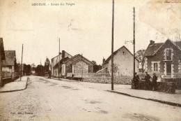 Gouzon Route Des Forges - Frankreich