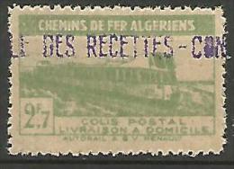 ALGERIE COLIS POST YVERT  N� 119 / MAURY N� 133  NEUF** TTB / MNH