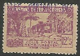ALGERIE COLIS POST YVERT  N� 125 / MAURY N� 139  NEUF** TTB / MNH
