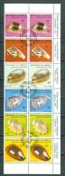 Djibouti 1982  Yv & T  557 / 562 (o) Schelpen / Coquillages / Shell - Djibouti (1977-...)