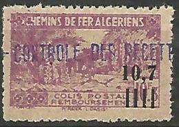 ALGERIE COLIS POST YVERT  N� 140 / MAURY N� 149  NEUF** LUXE / MNH