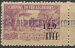 ALGERIE COLIS POST YVERT  N� 142 / MAURY N� 150  NEUF** LUXE / MNH