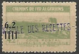 ALGERIE COLIS POST YVERT  N� 135 / MAURY N� 157  NEUF** TTB / MNH