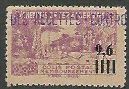 ALGERIE COLIS POST YVERT  N� 139 / MAURY N� 159  NEUF** TTB / MNH