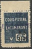 ALGERIE COLIS POST YVERT  N� 146 / MAURY N� 162  NEUF** TTB / MNH