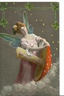 FEMMES - FRAU - LADY - Libellule Champignon - Women
