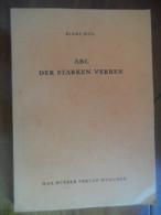 ABC - Der Starken Verben  (Kläre Meil) De 1962 - Livres Scolaires