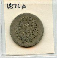 Germany 10 Pfennig 1876A - [ 2] 1871-1918: Deutsches Kaiserreich