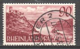 Germany Rheinland Pfalz 1948 Mi 41 Canceled - Franse Zone