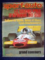 """SPORT AUTO"" #111 Avr. 1971 Automobile FIAT 128 Rally / OPEL Ascona - Auto/Motor"