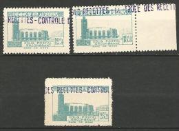 ALGERIE COLIS POST YVERT  N� 159�161 / MAURY N� 173-75  NEUF** TTB / MNH