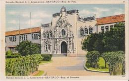 SANTIAGO REP DE PANAMA ESCUELA NORMAL J D ARASEMANA - Panama