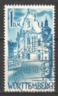 Germany Wurttemberg 1948 Mi 27 Canceled (2) - Franse Zone