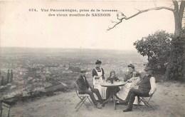 SANNOIS VUE PANORAMIQUE PRISE DE LA TERRASSE DU VIEUX MOULIN 95 VAL-D'OISE - Sannois